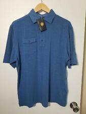 1 Nwt Footjoy Men'S Shirt, Size: Medium, Color: Blue (J25)