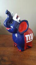 NY Giants Coin Piggy Bank Ceramic
