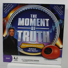 The Moment Of Truth - Party Game Based on the Hit Game Show - BRAND NEW IN BOX