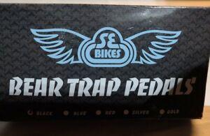 SE Bear Trap BMX Bike Pedals (Black)