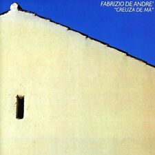 FABRIZIO DE ANDRE' - CREUZA DE MA - LP VINYL REISSUE NEW SEALED 2014