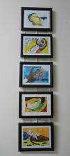 SET ORIGINAL AFRICA ART FRAMED Signed Painting Philippine Master STYLE FOLK FREE