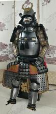 Iron & Silk Japanese wearable Rüstung Samurai Armor dark slilver O09
