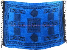 Indonesia handmade Celtic sarong tapestry wall art beach bikini coverup