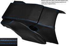 BLUE Stitch Posteriore Centro Console cuoio pelle copertura si adatta Porsche 928 S S2 S4