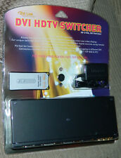 "New Rtcom Model Ds-21Ra "" Dvi Hdtv Switcher 2x1 with Ir / Rs232 & Audio & Remote"