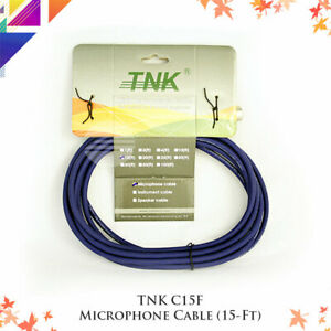 TNK C15F Microphone Cable (15Ft)