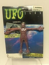 UFO Files - Muskel Eliminator Bendable Alien w Glow in the Dark Eyes