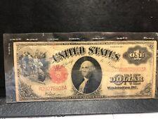 1917 Large Size $1 Dollar United States Note •Speelman-White•