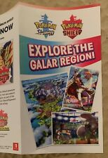 POKEMON SWORD & SHIELD PAX EAST 2020 NINTENDO BOOTH BROCHURE RARE - SEE PICS