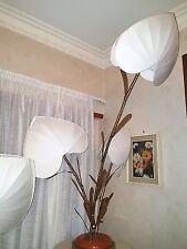 ANTONIO PAVIA GILT BRASS BAMBU' BRANCHES  FLOOR LAMP BY ANTONIO PAVIA 50s 60s 70
