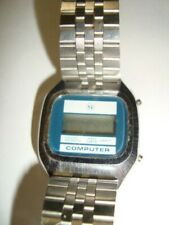 Computer Lcd watch Vintage 1970's A/F