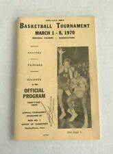 1970 A.A.U. Iowa Men's Basketball Tournament Program w/Drake Star Dolph Pulliam!