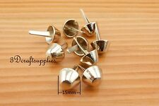 purse feet bag feet handbag feet metal feet 30 pcs 15 mm light gold AB57
