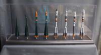 "Handmade models set USSR space launсh vehicles  ""Vostok Family""  scale 1250"