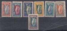 Lituania/Lithuania 1921 Inaugurazione servizio postale aereo A1 A7 linguellato