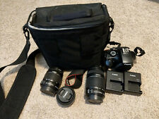 Canon Eos Rebel T3 / 1100D 12.2Mp Digital Slr Camera (Includes Zoom, Prime Lens)