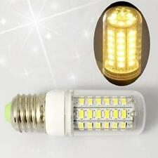 6pcs 7W E27 LED Corn Lamp Bulb w/Cover 56SMD 5730 Light 110V Warm White