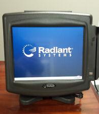 RADIANT P1220 POS 12' TOUCHSCREEN TERMINAL 2GB RAM 4GB UDOC w/MSR, Rear display