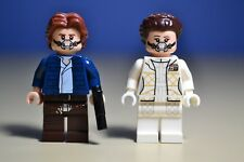 Lego Star Wars Han Solo and Princess Leia Minifigures From Set 75192