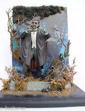 DRACULA (1932) Bela Lugosi AURORA Styrene Model Kit MONOGRAM Pro Build-Up Rare!