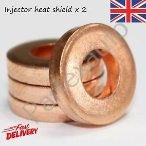 2X Diesel Injector Seal Washers For Renault 1.5/1.9/2.2/3.0 dci - 7703062072