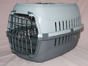 PETS AT HOME ROADRUNNER SMALL PET CARRIER IN TWO TONE GREY