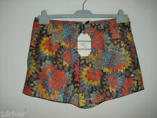 L@@K Womens Floral Hot Pants by Belle London - New Look BNWT
