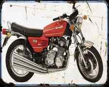 Benelli 750 Sei 73 4 A4 Photo Print Motorbike Vintage Aged