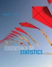 Essentials of Statistics by Mario Triola 2013, Paperback, 5th Edition w/ New CD