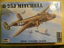 Revell 1:48 B-25J Mitchell Plane Plastic Model #5512 Skill 4 Ships FREE US