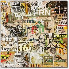 Aufkleber box nach brief deko Grafiti Tag 30x30cm 319