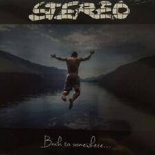 Stereo «Back To SomeWhere « Cd Neuf Scellé