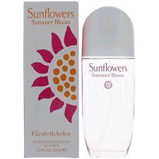 SUNFLOWERS SUMMER BLOOM 3.3 oz 100 ml Elizabeth Arden Women Perfume EDT Spy NIB