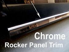 2001-2018 MITSUBISHI Chrome SIDE ROCKER PANEL Trim Molding Kit 2PC