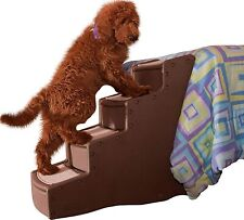 Pet Gear Easy Step Iv Stairs, 4-Step For pets up to 150 pounds, Chocolate