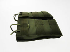Tasca Doppia PortaCaricatori Verde aggancio cintura/giubbotto