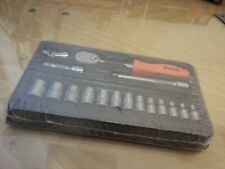 """Snap on Tools 17 Piece 1/4"""" Drive Metric General Service Set *NEW"""