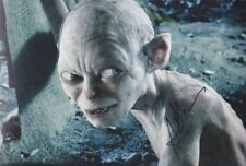 """ANDY SERKIS """"Gollum"""" 1 Foto 20x30 orignal signiert IN PERSON signed"""