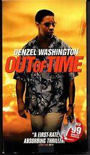 Out of Time VHS Denzel Washington Eva Mendes Good Mystery