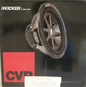 """KICKER 10CVR124 CAR 12"""" SUBWOOFER/SUB WOOFER CVR12 4-OHM 10CVR12 2010 10"""