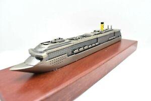 Model Ship For Cruise Coast Mediterranean Cruise Ship Model vehicles Rare