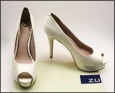 Open Toe Stiletto ZU Heels for Women