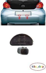 Toyota Aygo 2005- 2012 1X Neuf Immatriculation Plaque Feu Gauche ou Droit