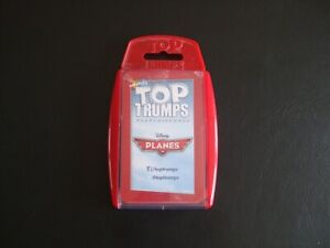 Disney Planes Top Trumps Card Game Winning Moves