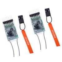 2pc Spektrum DX6I DX18 DX8 DX9 6 Channel DSMX/2 Transmitter AR6100E Receiver
