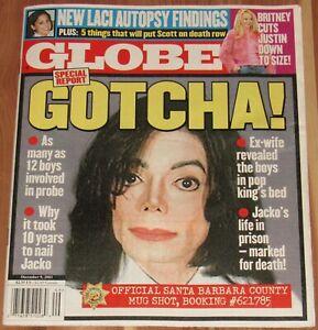 DECEMBER 9 2003 GLOBE, BRITNEY SPEARS, MICHAEL JACKSON, LACI PETERSON