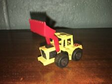 1:64 1976 MATCHBOX SUPERFAST TRACTOR RED SHOVEL MADE IN MACAU