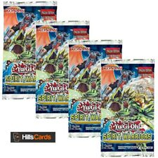 Yu-Gi-Oh TCG Spirit Warriors 4 Sealed Booster Packs SPWA Cards - Six Samurai