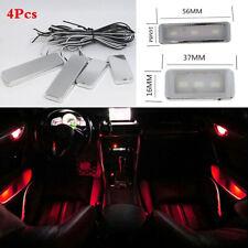 4Pcs Atmosphere Lamp Ambient LED Light For Car Inner Door Bowl Handle Armrest